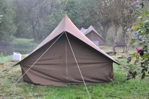 kamperen bij Kantankye
