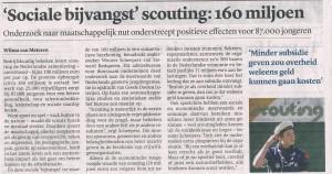 sociale bijvangst scouting
