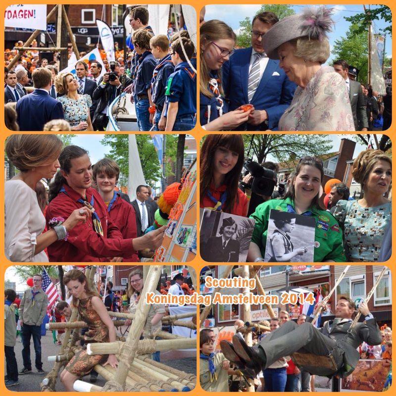 Kantankye viert feest met de koninklijke familie